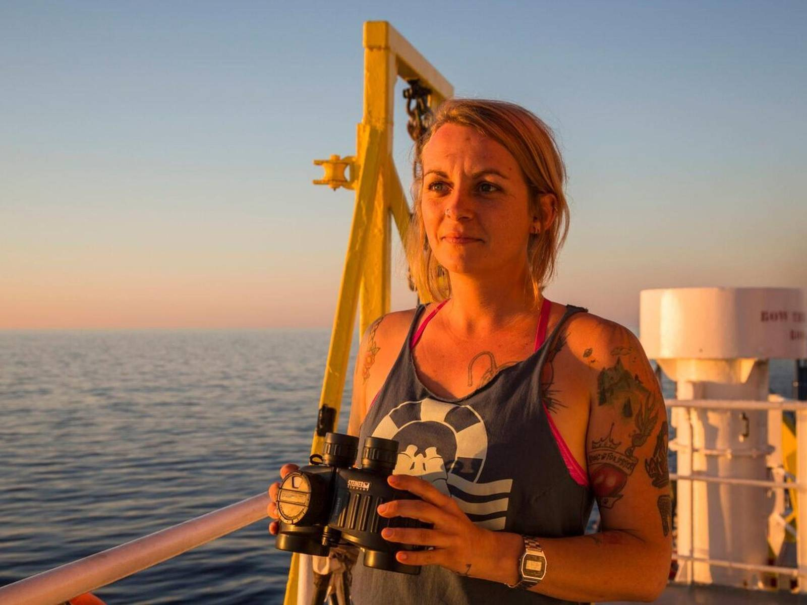 Pia Kemp, Female Boat Captain Facing 20 Years in Jail For Helping Oppressed People