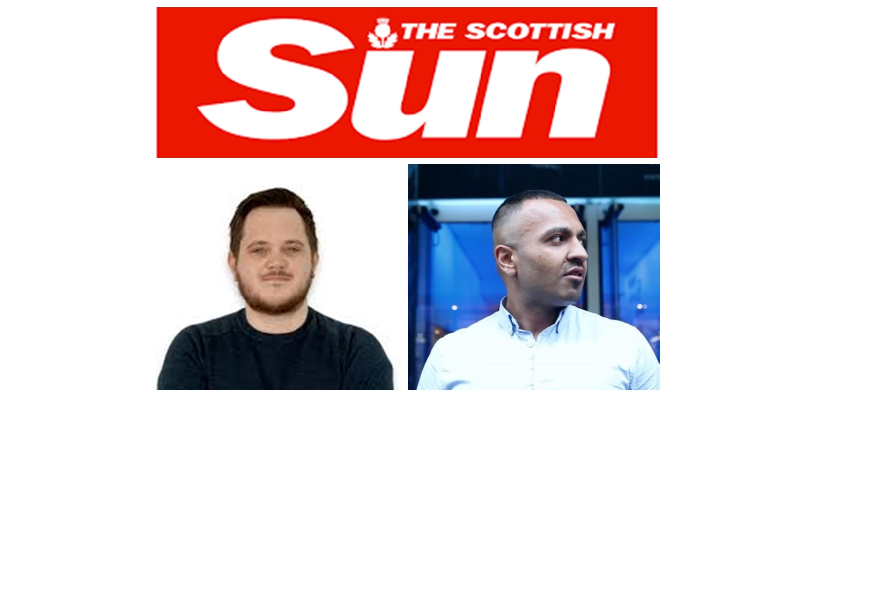 Sleazy Unemployed Reporter Mark Hendry, Writes Predatory Freelance Article For Vile Newspaper The Scottish Sun, About Innocent Man Adnan Ahmed aka Addy Agame