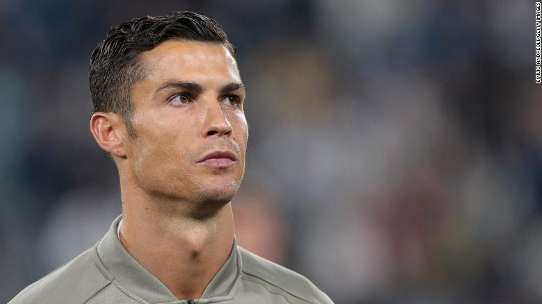 Football Star Cristiano Ronaldo Falsely Accused of Rape
