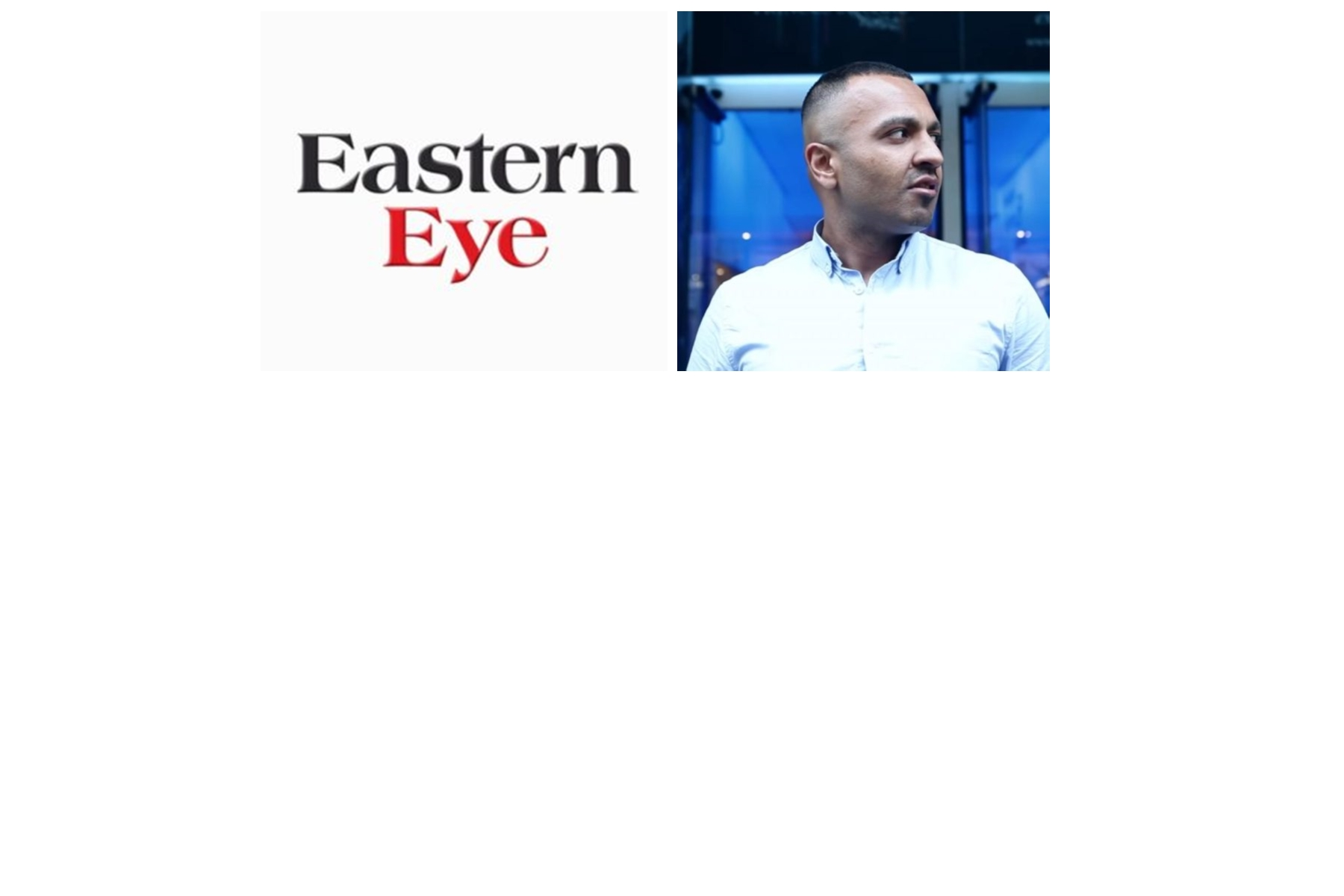 """Disgusting """"Eastern Eye"""" Turn Into Race Traitors To Desperately Make Money; Reporting Bogus Story About Adnan Ahmed (Not Guilty)"""