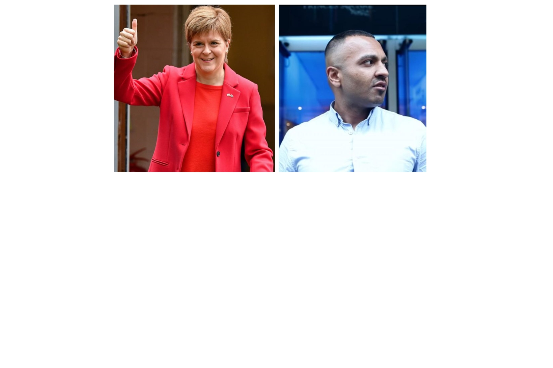 Hypocrite Nicola Sturgeon vs Addy Agame (Not Guilty!)