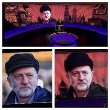 Dishonest BBC Accused of Photo Shopping Jeremy Corbyn's Hat To Make Him Look Like He Was Colliding With Russia