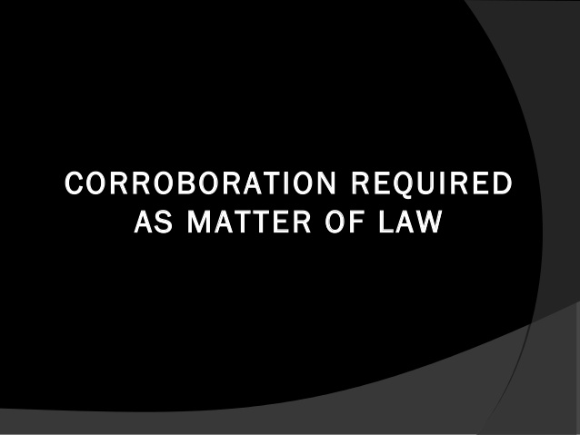 Corroboration and Moorov Doctrine – Scottish Law
