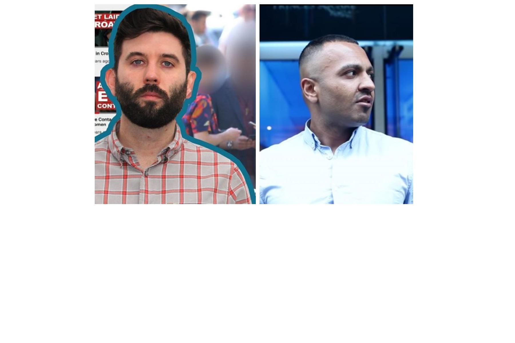 Beta-Male Racist Myles Bonnar vs Adnan Ahmed aka Addy Agame
