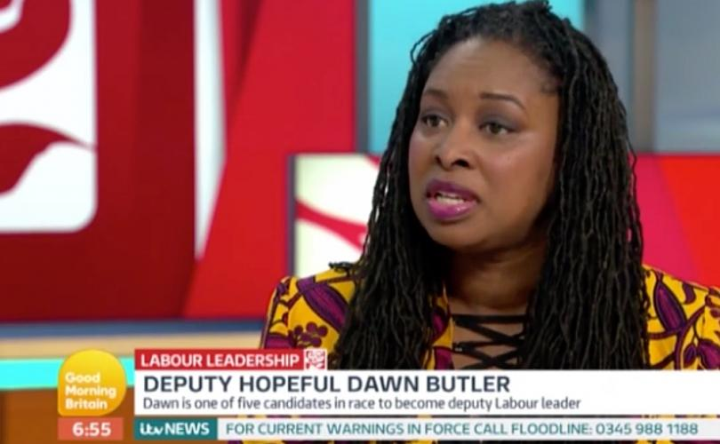 MP Dawn Butler States Babies Are Born Without A Gender