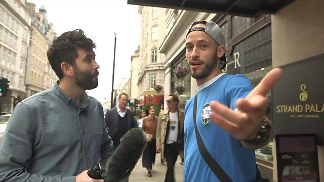 Camp Crusader Hack Myles Bonnar vs Richard Hood From Street Attraction (BBC Disclosure/ Panorama Episode Bombs)