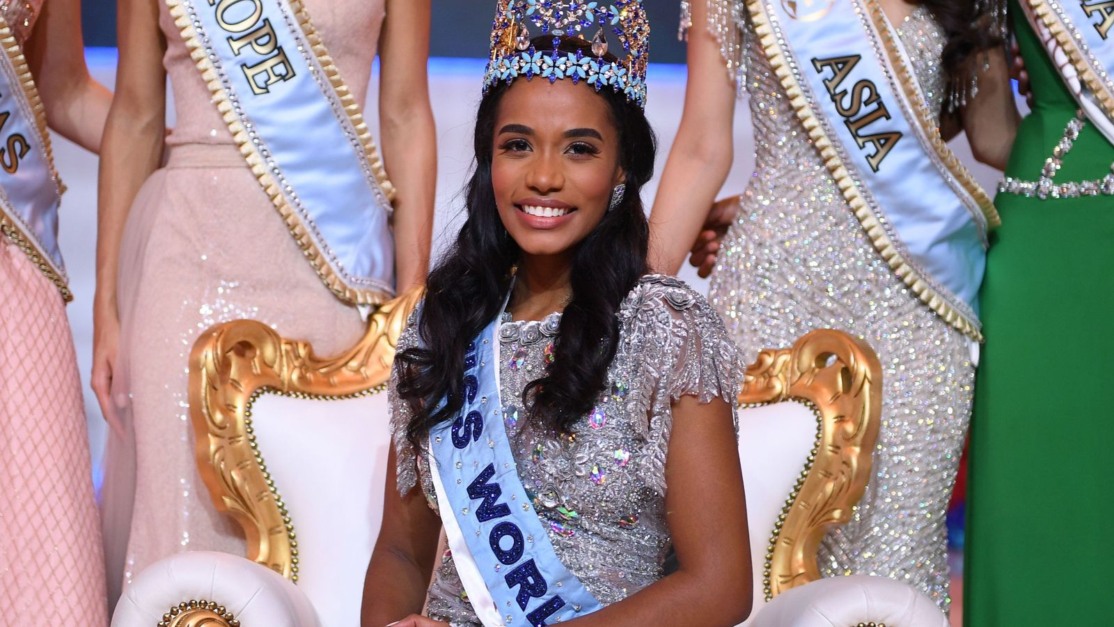 Jealous Insecure Overweight Feminists Attempt To Shut Down Miss World Competition