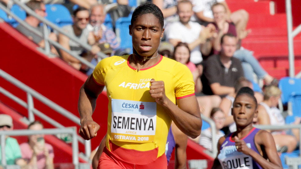 Female Olympian; Caster Semenya, Attacked By Fellow Female Athletes For Having High Testosterone