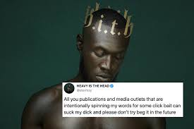 """Rapper Stormzy Attacks UK Media For """"Spinning"""" His Comments On Racism Out Of Context"""
