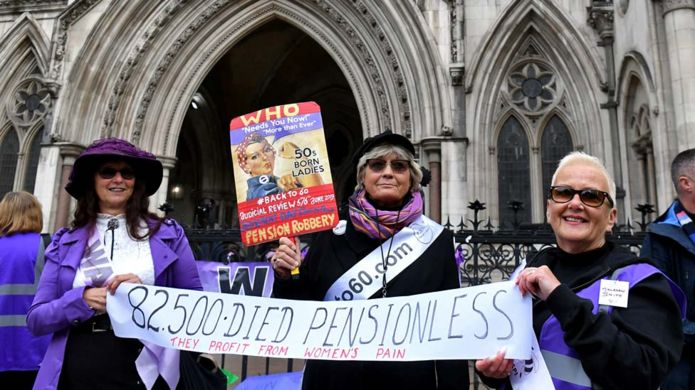 Feminist Women Lose State Pension Age Appeal Against Government Because Wage Gap Is Not Real