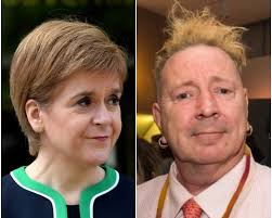 Punk Rock Legend Johnny Rotten Hits Out At Nicole Sturgeon's Utterly Sickening Feminist Supremacy Quest For IndyRef2