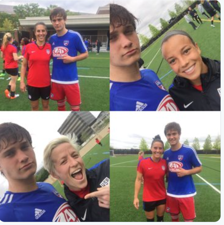 FC Dallas Under-15 Boys Team Beat U.S.A Women's National Team 5-2, Proving That Men Are Physically Superior To Women Due To Natural Testosterone (Men And Women Are Biologically And Psychologically Different)