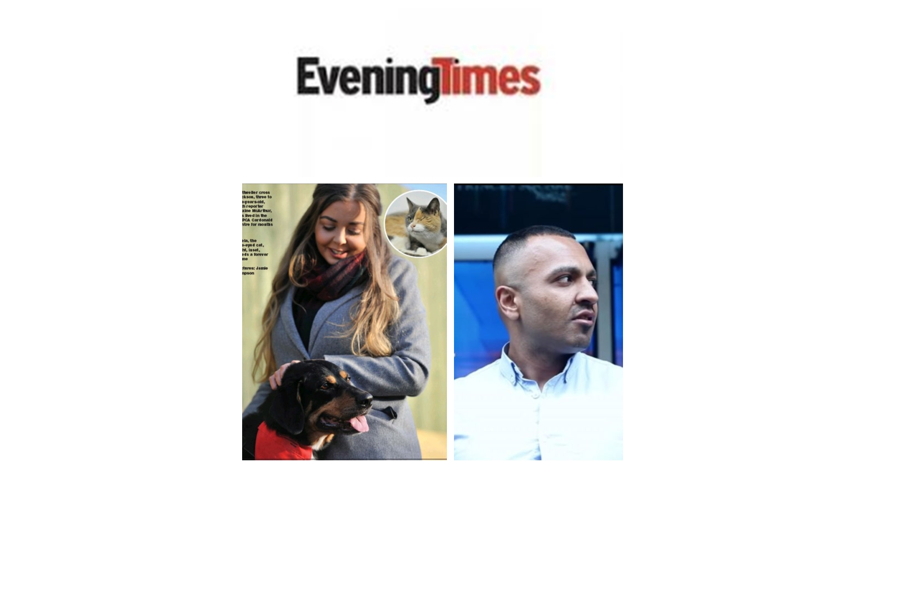 """Feminazi Clown Reporter Maxine McArthur (Evening Times) Writes Bogus Story About Failed Protest Against """"Dating Coach"""" Addy Agame Ahmed Following Wrongful Arrest"""
