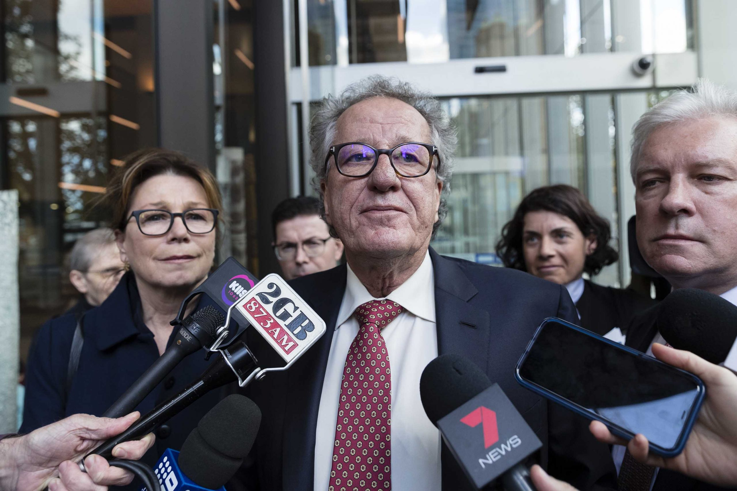 Oscar Winning Actor Geoffrey Rush Wins Defamation Case Against Scumbag Feminist News Outlets Because They Tried To Have Him Cancelled Via Trial By Media False Sexual Misconduct Allegations Made By Lying False Accuser Females