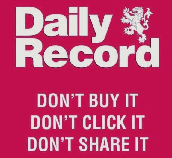 Rangers Football Club Supporters Fight Back Against Vile Rag 'The Daily Record' By Exposing Their Journalists As Racist, Sexist & Homophobic