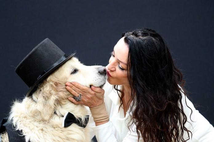 Elderly Sex Worker Marries Her Dog After Hundreds Of Men Reject Her Due To Her Feminist Values